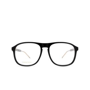 Gucci® Aviator Eyeglasses: GG0844O color Black 004.