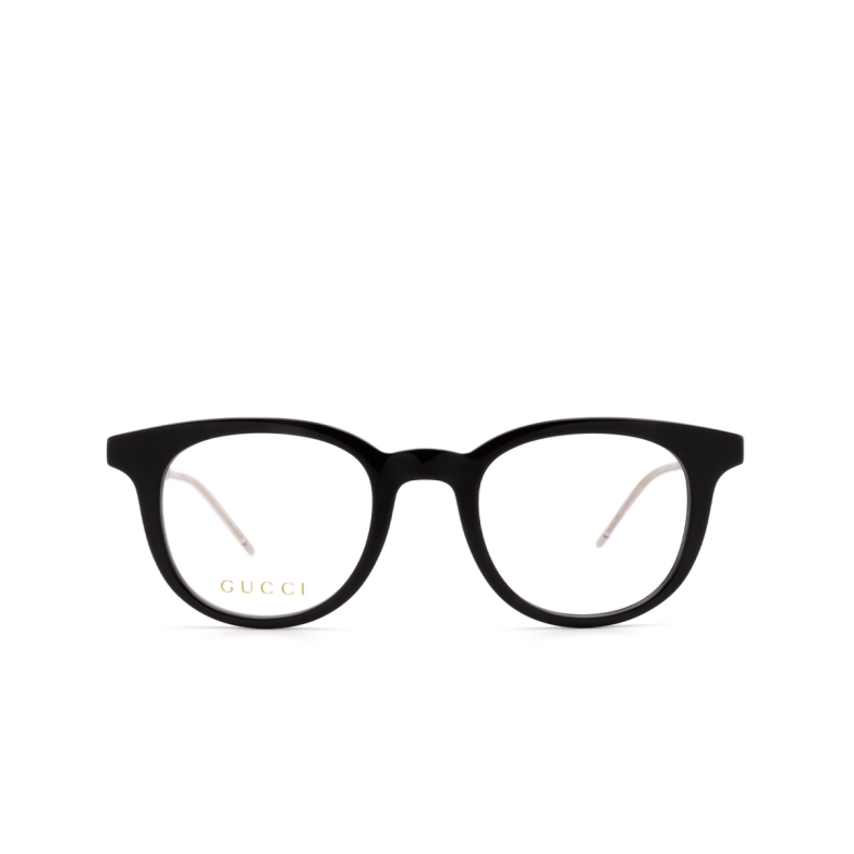 Gucci® Square Eyeglasses: GG0845O color Black 001.