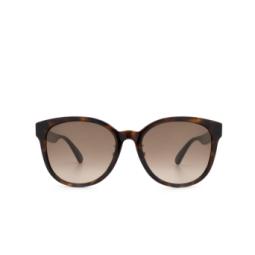 Gucci® Sunglasses: GG0854SK color Havana 003.