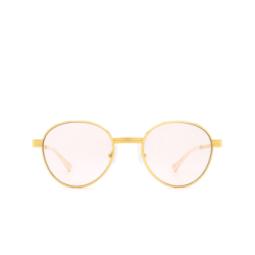 Gucci® Sunglasses: GG0872S color Gold 001.