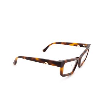 Huma® Cat-eye Eyeglasses: Dea color Havana 00V.