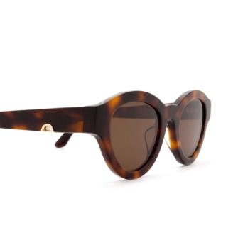 Huma® Cat-eye Sunglasses: Dug color Havana 00.