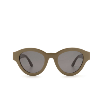 Huma® Cat-eye Sunglasses: Dug color Military 09.