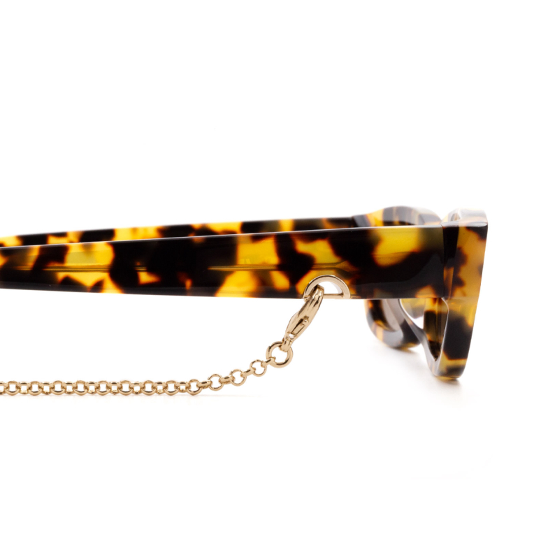 Huma® Accessories: Earring Swarovski Clip Hair color Gold E30.