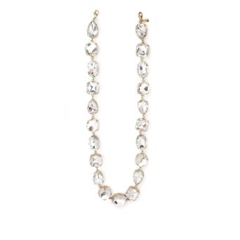 Huma® Accessories: Maxi Swarovski Chain-crystal color Gold S01.32.