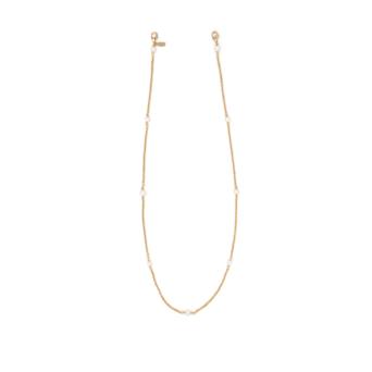 Huma® Accessories: River Pearls Chain color Gold P12.