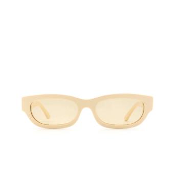 Huma® Rectangle Sunglasses: Tojo color Ivory 07.