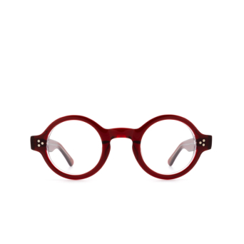 Lesca® Round Eyeglasses: Burt color Rouge A4.