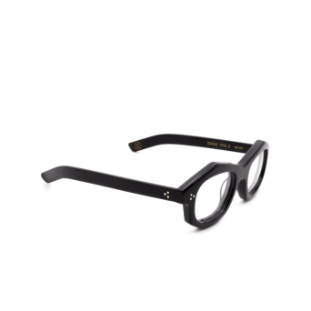 Lesca® Irregular Eyeglasses: Dada color Noir 5.