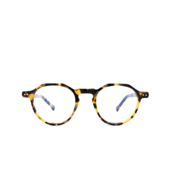 Lesca® Irregular Eyeglasses: Icon color Havana 228.