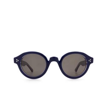 Lesca® Round Sunglasses: La Corbs color Blue 20108.