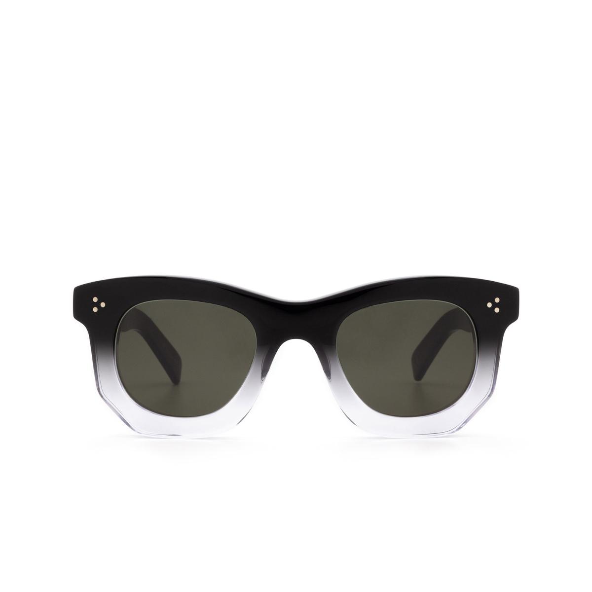 Lesca® Irregular Sunglasses: Ogre Sun color Black Degraded Deg.