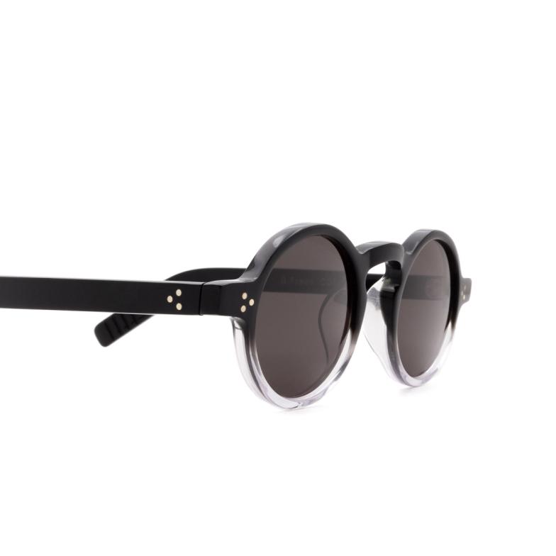 Lesca® Round Sunglasses: S.freud color Noir Degradé Deg.