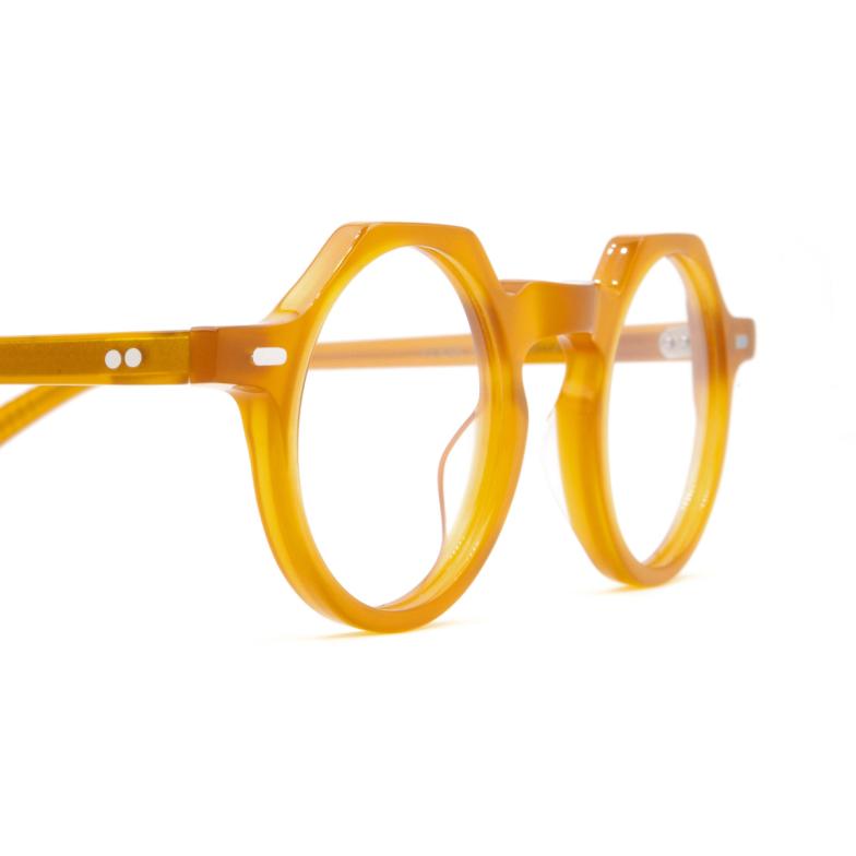 Lesca® Irregular Eyeglasses: Yoga color Honey Miel.