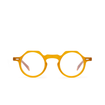 Lesca® Irregular Eyeglasses: Yoga color Honey Miel.