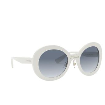 Miu Miu® Round Sunglasses: MU 04VS color Ivory VAG4R2.