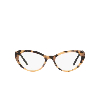 Miu Miu® Cat-eye Eyeglasses: MU 05RV color Pink Havana 07D1O1.