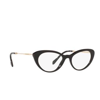 Miu Miu® Cat-eye Eyeglasses: MU 05RV color Black 1AB1O1.