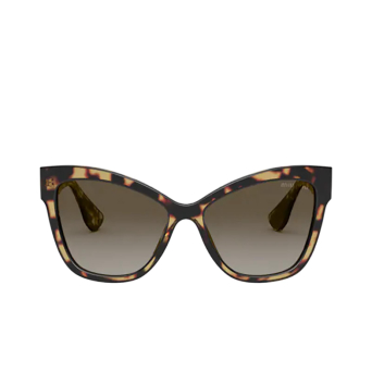 Miu Miu® Cat-eye Sunglasses: MU 08VS color Havana 09H0A7.
