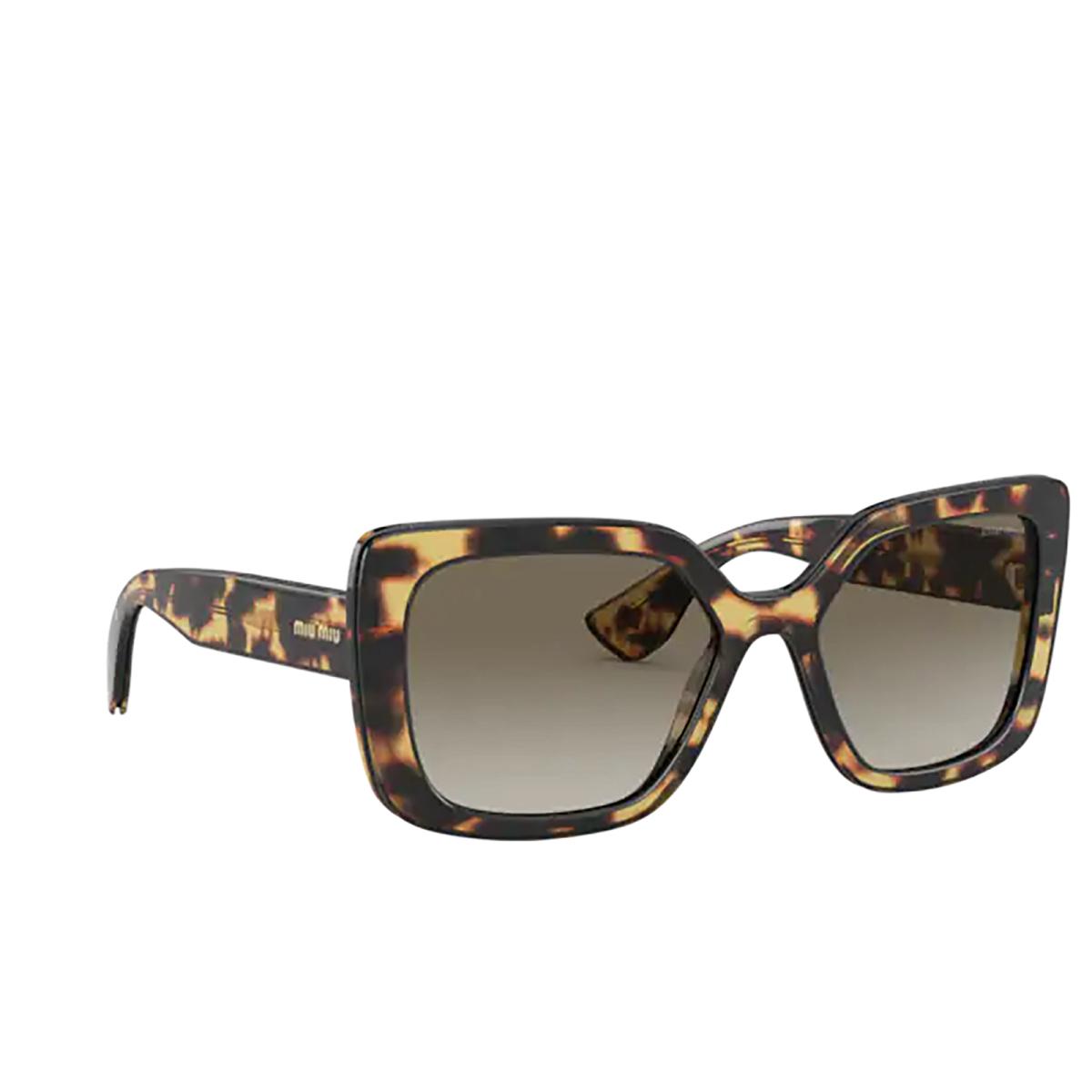 Miu Miu® Rectangle Sunglasses: MU 09VS color Havana 09H0A7.