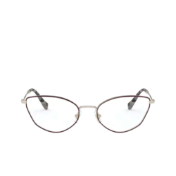Miu Miu® Eyeglasses: MU 51SV color Pale Gold / Bordeaux 09B1O1.