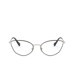Miu Miu® Eyeglasses: MU 51SV color Pale Gold / Black AAV1O1.