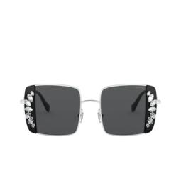 Miu Miu® Sunglasses: MU 56VS color Silver / Black 01E5S0.