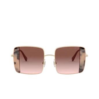 Miu Miu® Square Sunglasses: MU 56VS color Pink Gold / Pink Havana 07D0A6.