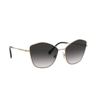 Miu Miu® Irregular Sunglasses: MU 60VS color Antique Gold 7OE5D1.