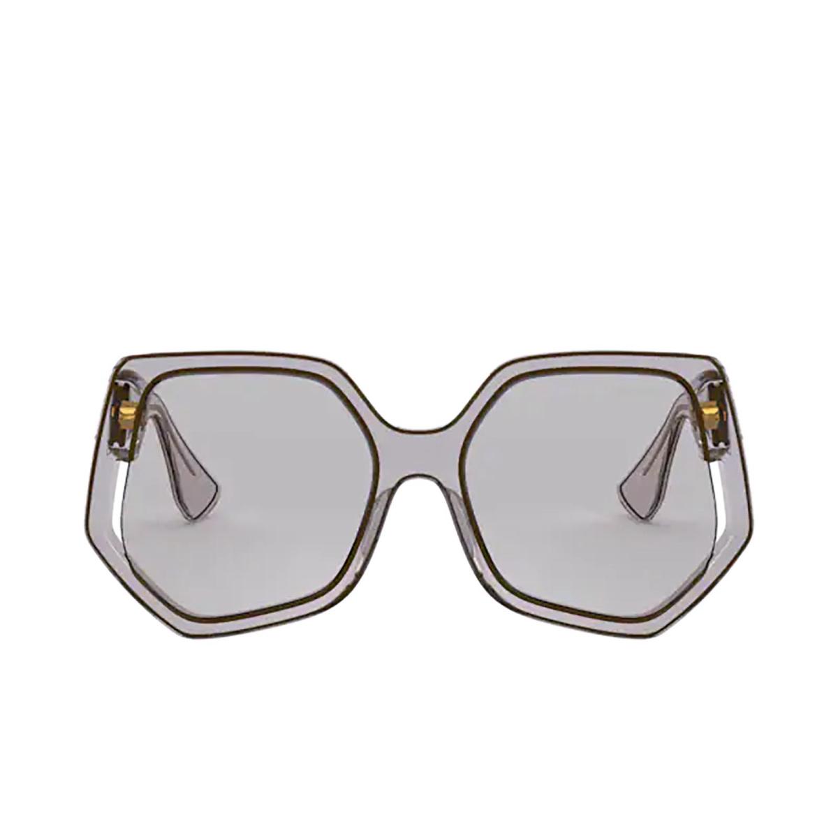 Miu Miu® Irregular Sunglasses: Special Project MU 07VS color Grey 05D5J0.