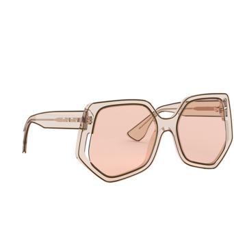 Miu Miu® Irregular Sunglasses: Special Project MU 07VS color Transparent Beige 06D3D2.