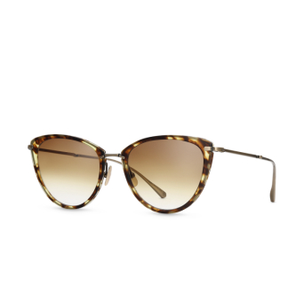 Mr. Leight® Butterfly Sunglasses: Beverly S color Tort-atg/wbg.