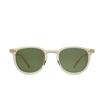 Mr. Leight® Square Sunglasses: Coopers S color Artcry-plt/grn.