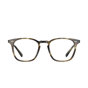 Mr. Leight® Square Eyeglasses: Getty C color Bkfntort-pw.