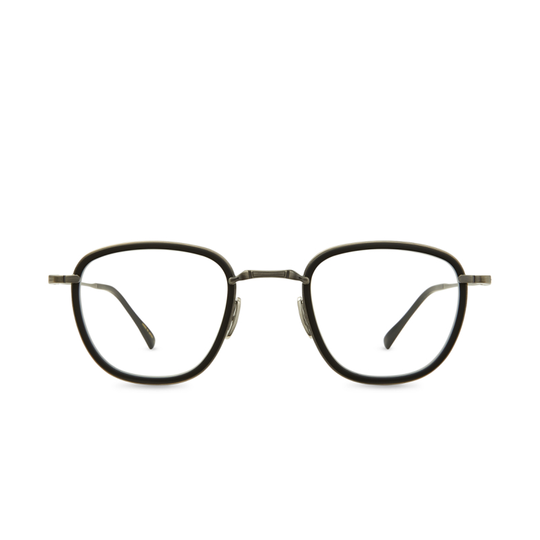 Mr. Leight® Square Eyeglasses: Griffith C color Mbk-pw-mbk.