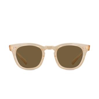 Mr. Leight® Square Sunglasses: Hanalei S color SMT-12KMWG/BRN.