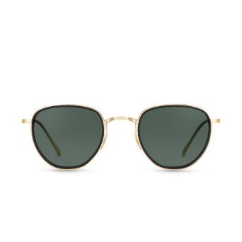 Mr. Leight® Round Sunglasses: Roku S color MBK-12KWGHRN.