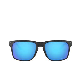 Oakley® Square Sunglasses: Holbrook OO9102 color Matte Black 9102F0.