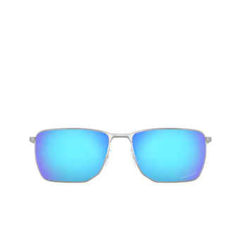 Oakley® Rectangle Sunglasses: Ejector OO4142 color Satin Chrome 414204.