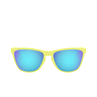 Oakley® Square Sunglasses: Frogskins 35th OO9444 color Matte Neon Yellow 944403.