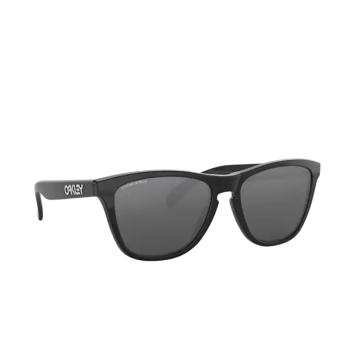Oakley® Square Sunglasses: Frogskins OO9013 color Polished Black 9013C4.