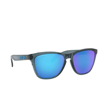 Oakley® Square Sunglasses: Frogskins OO9013 color Crystal Black 9013F6.