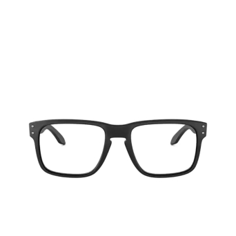 Oakley® Square Eyeglasses: Holbrook Rx OX8156 color Satin Black 815601.