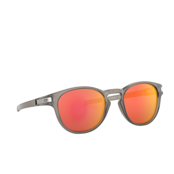 Oakley® Round Sunglasses: Latch OO9265 color Matte Grey Ink 926515.