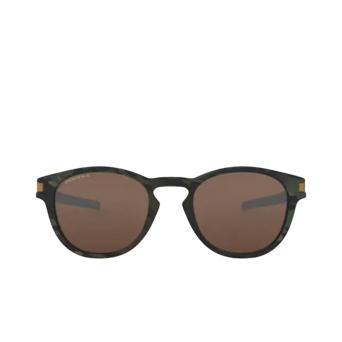 Oakley® Round Sunglasses: Latch OO9265 color Matte Olive Camo 926531.