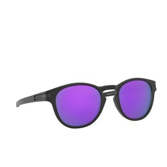 Oakley® Round Sunglasses: Latch OO9265 color Matte Black 926555.