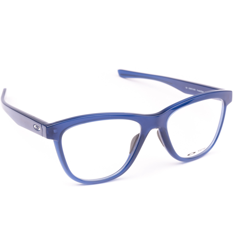 Oakley® Square Eyeglasses: OX8070 color Frosted Navy 0553.