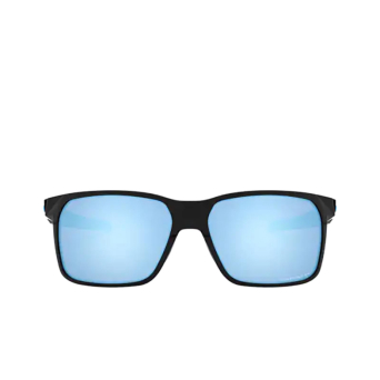 Oakley® Rectangle Sunglasses: Portal X OO9460 color Polished Black 946004.