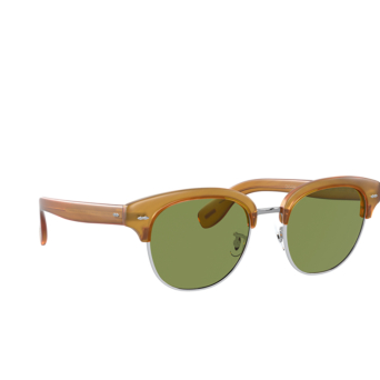Oliver Peoples® Square Sunglasses: Cary Grant 2 Sun OV5436S color Semi Matte Amber Tortoise 169952.