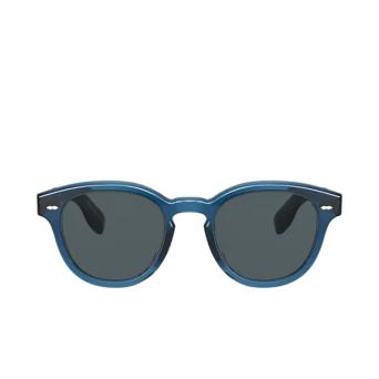 Oliver Peoples® Square Sunglasses: Cary Grant Sun OV5413SU color Blue 1670R5.